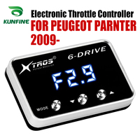 Car Electronic Throttle Controller Racing Accelerator Potent Booster For PEUGEOT PARNTER 2009-2019  Tuning Parts Accessory