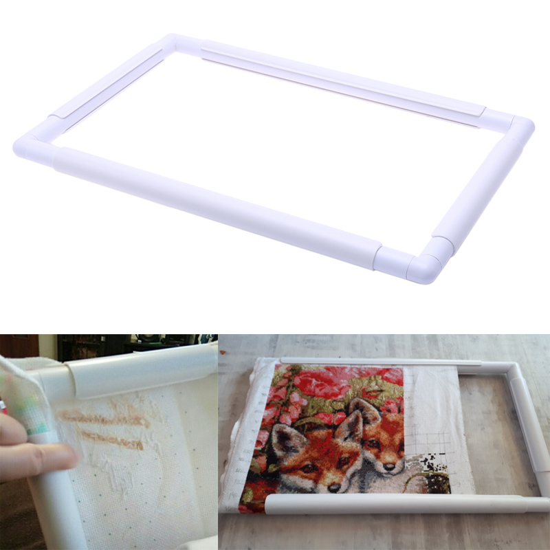 Hot Sale DIY Cross Stitch Craft Tool Sewing Tools Handhold Square ...