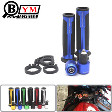 7/8» Motorcycle Handle bar Handlebar Grips&ends CNC Moto Racing Grips FOR HONDA CBR400 CB400 VTEC MC22 MC29 CB750