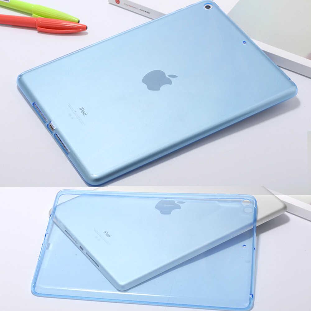 AXBETY Apple の ipad 2 3 4 ケース fundas シリコンソフト TPU 透明保護カバーのための ipad air 2 のための ipad 4 5 6 ケース
