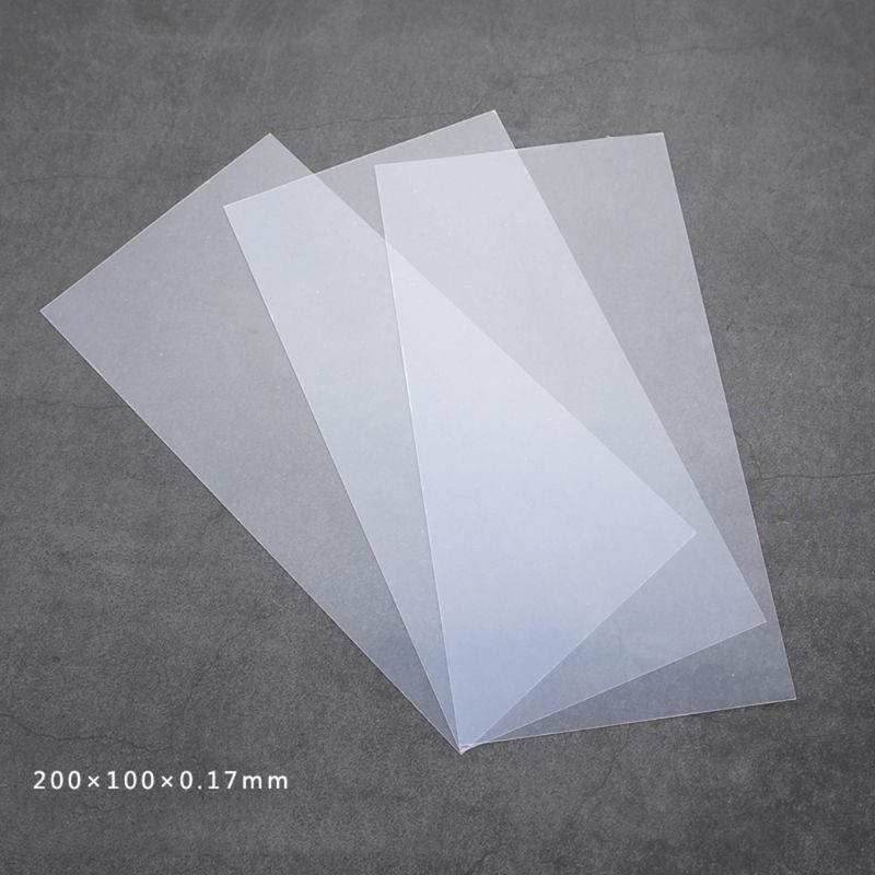 DIY Material Epoxy Resin Crafts Sheet Transparent Plastic Jewelry Making Tools Accessories Necklace Print High Transmittance