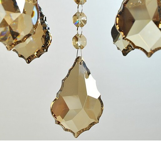 Crystal Chandelier Pendants Parts: 100pcs/lot 38mm ,Factory Price, AAA Crystal Chandelier