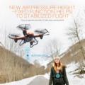 4 Canales 6-Axis 2.4 GHz 2.0MP Wifi Transmisión En Tiempo Real de Luz LED Mantenimiento de Altitud RC Gyro Drone Quadcopter Helicóptero de Juguete