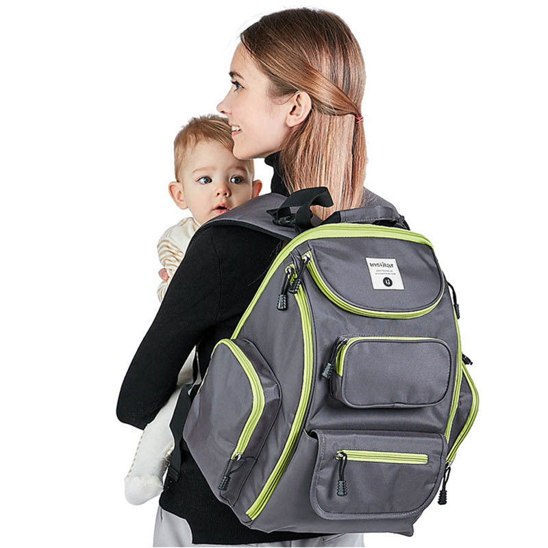 Insular Nappy Bags Baby Diaper Backpack Multifunctional Mummy Bag Fashion Baby Bag For Stroller Large Capacity Baby Diaper Bags fashion baby bag multifunction mummy bag for stroller large capacity baby diaper bags nappy bags baby diaper backpack