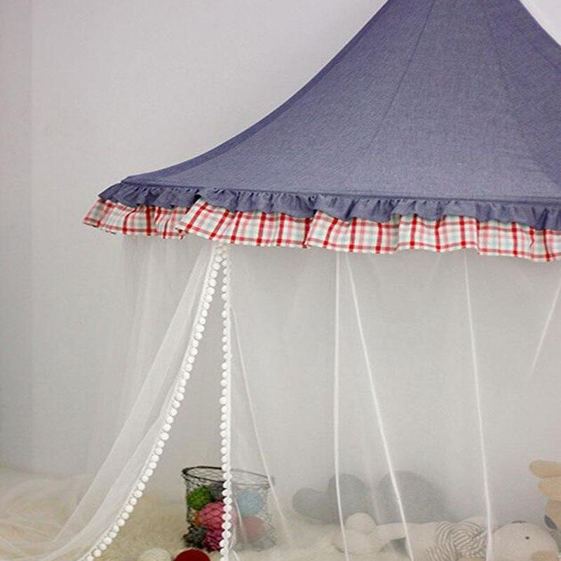 Tente de Tipi pour enfants pliable Tipi berceaux en coton suspendus Wigwam piscine sèche nouveau-nés nordique chambre décor accessoires de photographie - 6