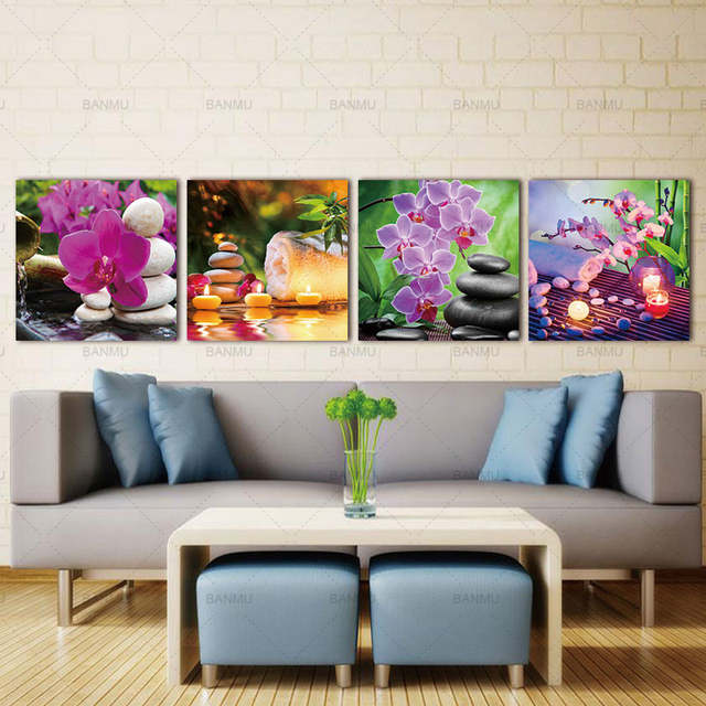 Online Shop Wall Art Canvas Painting Home Decor Zen Art Decor Spa