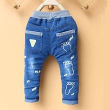 Haute qualité printemps nouveau bébé de mode garçons jeans enfants denim pantalon enfants pantalon 2-3-4-5-6 ans