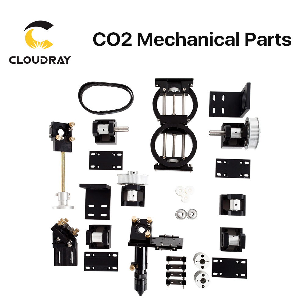 Cloudray CO2 Laser Mechanical Parts Metal Components For DIY CO2 Laser Engraving Cutting Machine Model B