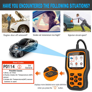 Image 2 - Autophix OM129 OBD2 Scanner Codes Lezen Auto Diagnose Scanner Check Engine Batterij Auto Code Reader Obd Gereedschap