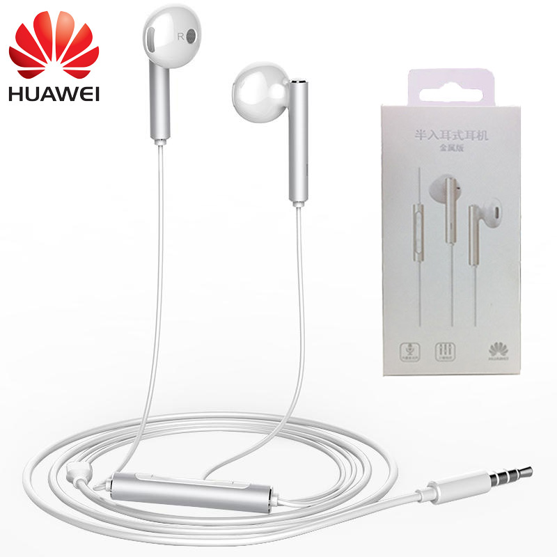 Original Huawei Mate 9 Earphone AM116 In-ear Headset Huawei P10 Plus Earbuds with Microphone for Huawei Honor 8 Android Phones newest original huawei honor engine earphone am116 with microphone remote 3 5mm in ear earbuds for pc huawei xiaomi mobile phone