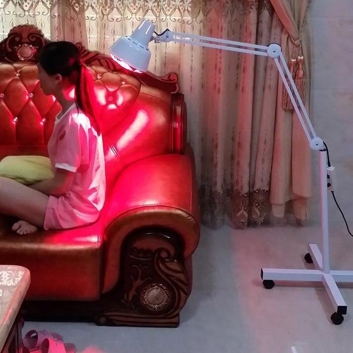 275 W stojak podłogowy masaż TDP terapia W podczerwieni lampa grzewcza zdrowia ulgę W bólu fizjoterapia opieki zdrowotnej elektryczny światło podczerwone w Masaż i relaks od Uroda i zdrowie na  Grupa 2
