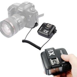 Image 5 - Godox X1C E TTL II 2.4G Wireless Flash Trigger High Speed Sync For Canon EOS 6D 7D 60D 650D 5DIII TT685 (Transmitter + Receiver