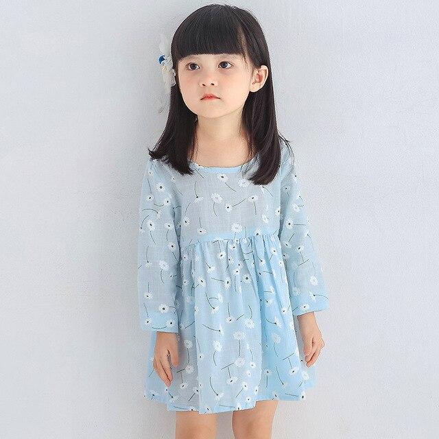 6b697a5ed 2017 Summer Spring Children Girls Dresses Lovely Baby Girls ALine ...