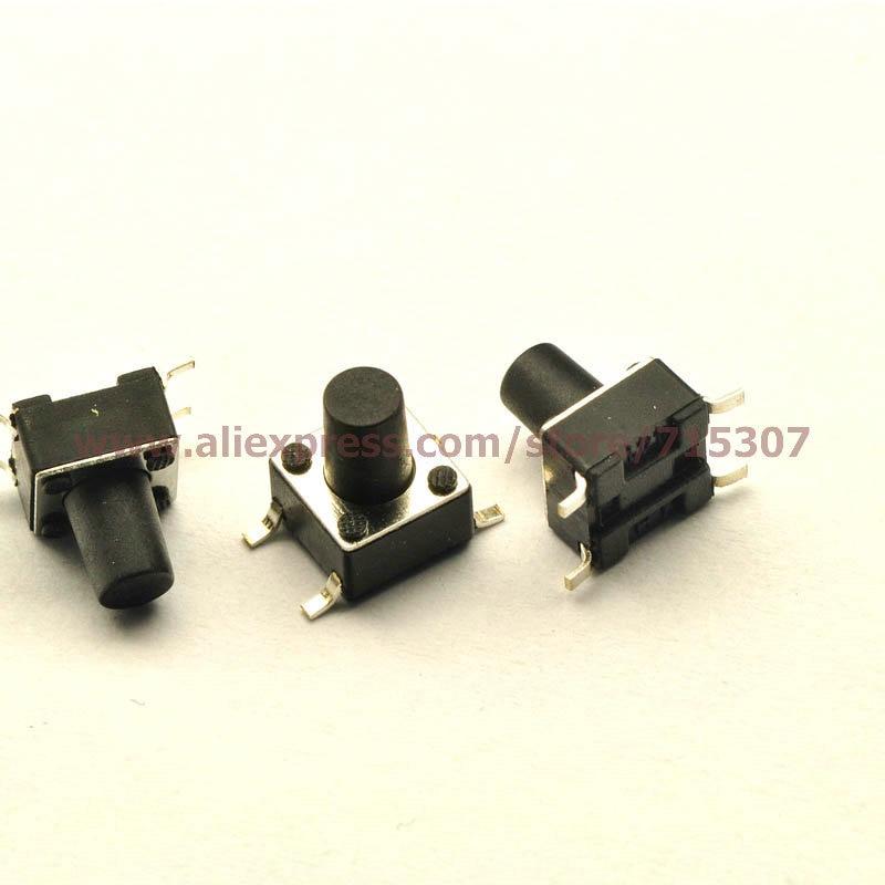 418b519e7 Phiscale 20 unids 6*6*8/6x6X8mm botón táctil interruptor SMD 4pin - a864