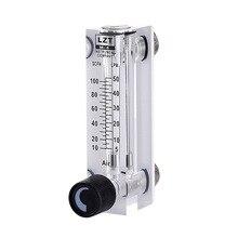LZT 6T 10 100 scfh 5 50lpm tipo de painel quadrado medidor de fluxo de ar medidor de fluxo de gás rotameter