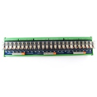 24 способ релейный модуль Omron 10A многоканальный твердотельные реле Плата усилителя ПЛК