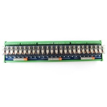цена на 24-way relay module omron OMRON 10A multi-channel solid state relay plc amplifier board