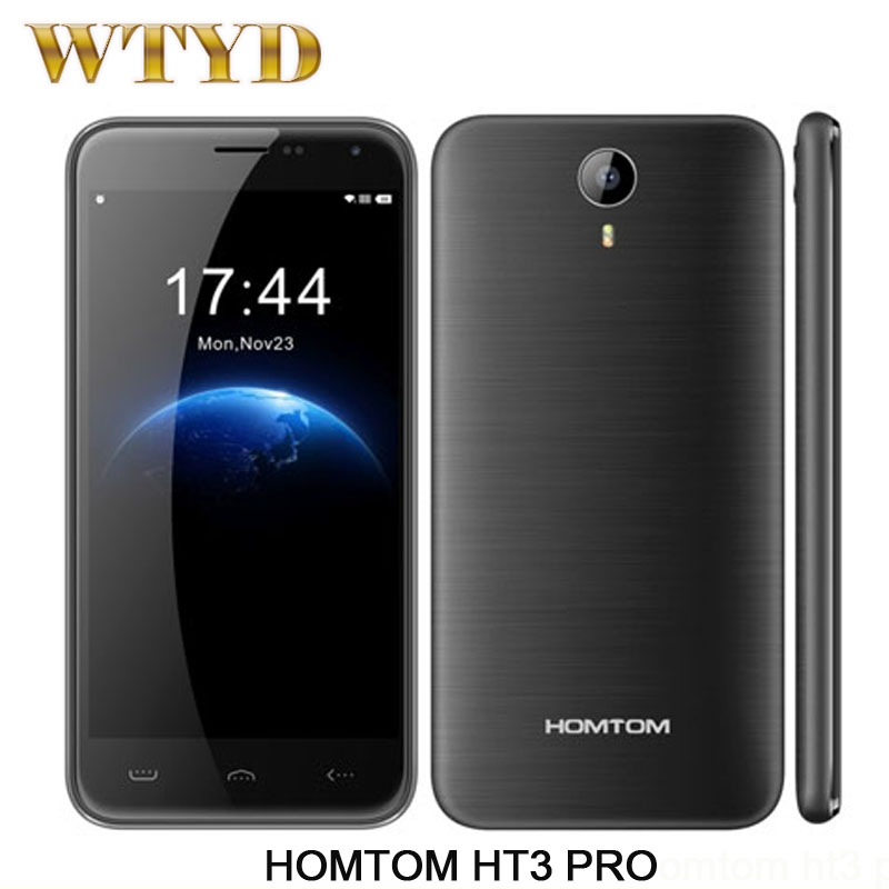 Original HOMTOM HT3 PRO 4G LTE font b Smartphone b font 5 0 Android 5 1