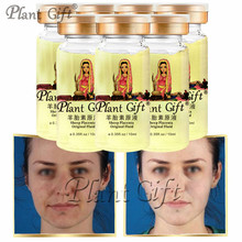 10ml * 7pcs Plant Gift Sheep Placenta Extract Original Fluid Night Cream Anti Wrinkle Cream Face Moisturizing Whitening