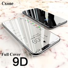 Cxone Full Cover Tempered Glass For Iphone 7/8 Plus Xs Max Screen Protector Xr