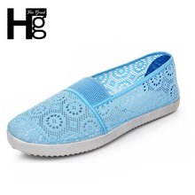 HEE GRAND Nest Women Shoes Spring Summer Soft Insole Ladies Flat Shoes Causal Walking Shoes Slip On Plus Size 5~9 XWF311