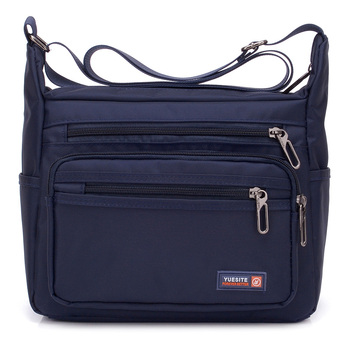 Nueva moda Vintage de los hombres Oxfords bolsos de los hombres de alta calidad bolsos de hombro hombre de gran capacidad de mensajero de mujer, Nylon Crossbody bolsas