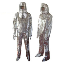 Термальность излучения 700 1000 градусов теплостойкие Алюминированная костюм LWS 001