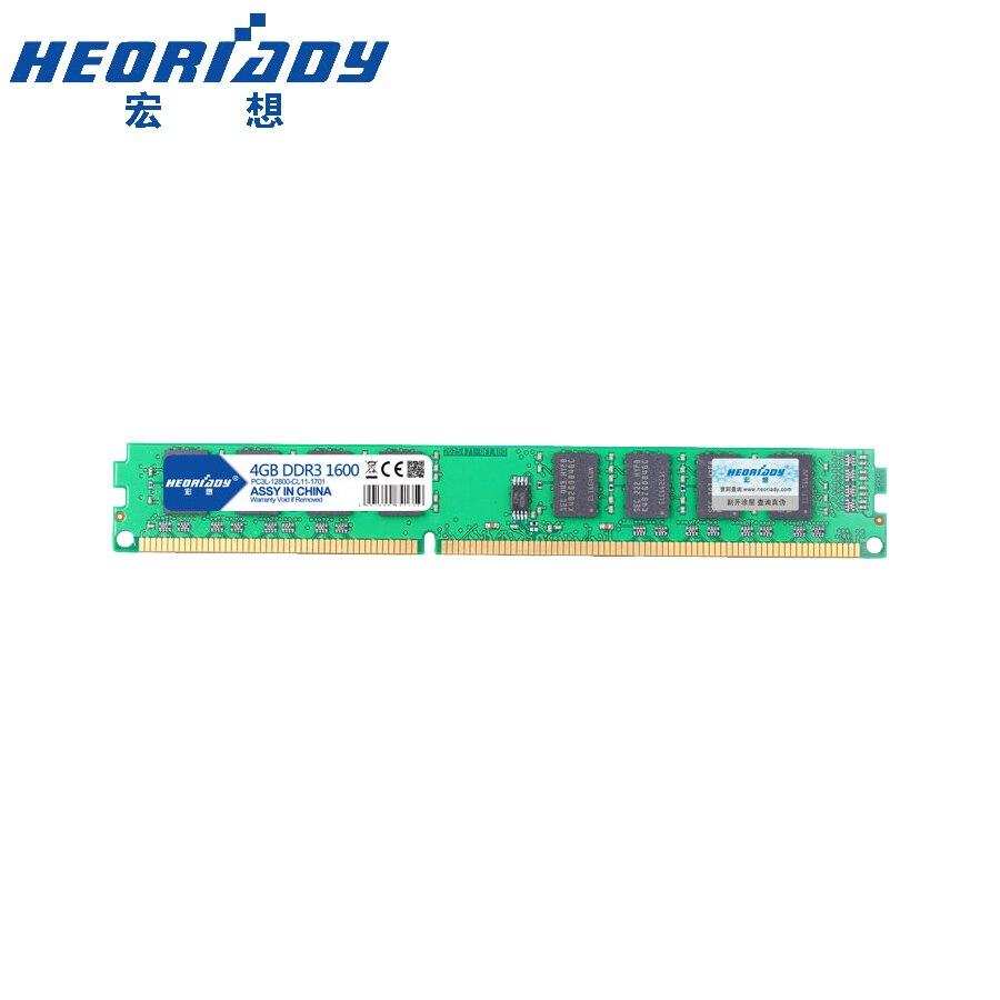 HEORIADY DDR3 4 GB 1600 MHz рабочего памяти 240pin 1,5 V продать 2 GB/8 GB Новые DIMM