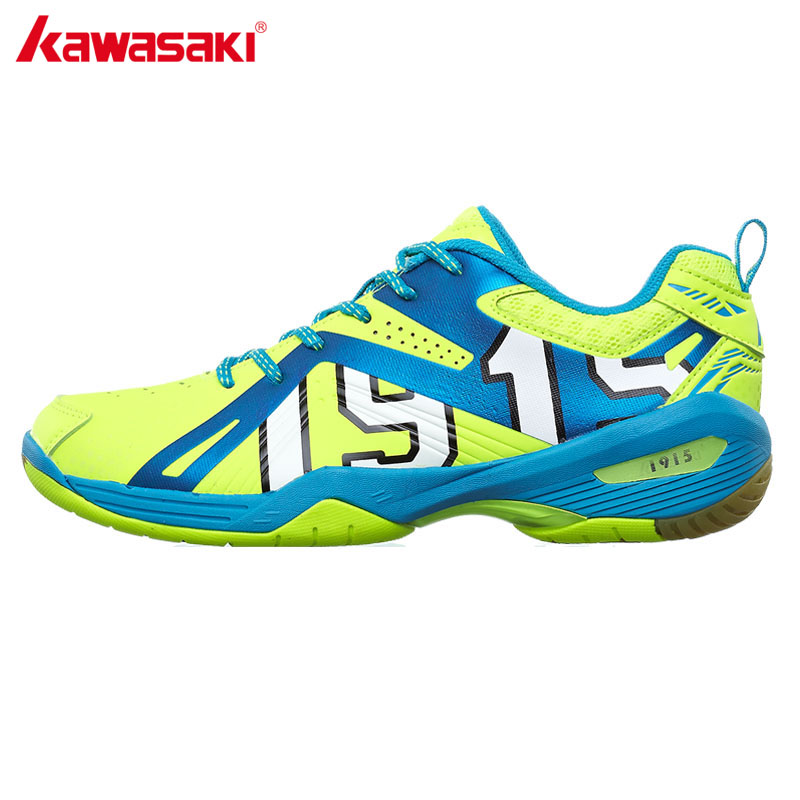2017 Kawasaki Men's Light Badminton Shoes Anti-Slipper Training Breathable Indoor Court Sports Shoes Sneakers K-516 Free Gift men women unisex badminton table tennis shoes anti slipper soft sneakers professional tennis sport training shoes free shipping