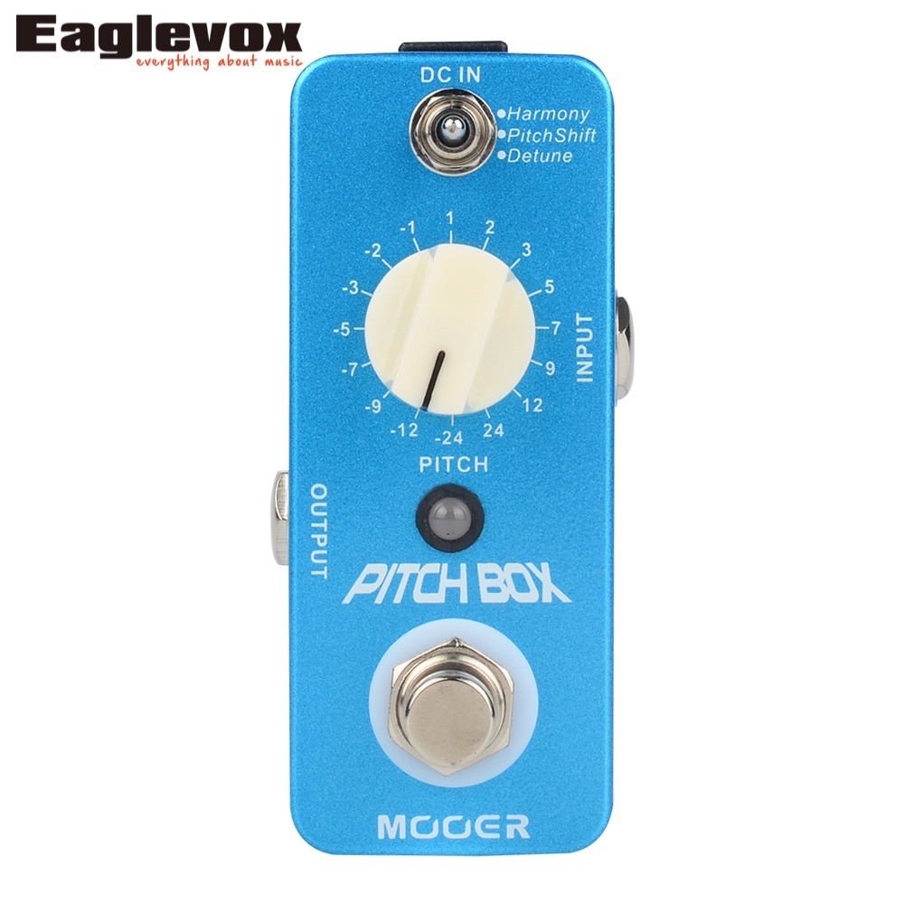 Mooer Pitch Box Pitch Shift Detune Harmony Pedal fifth harmony acapulco