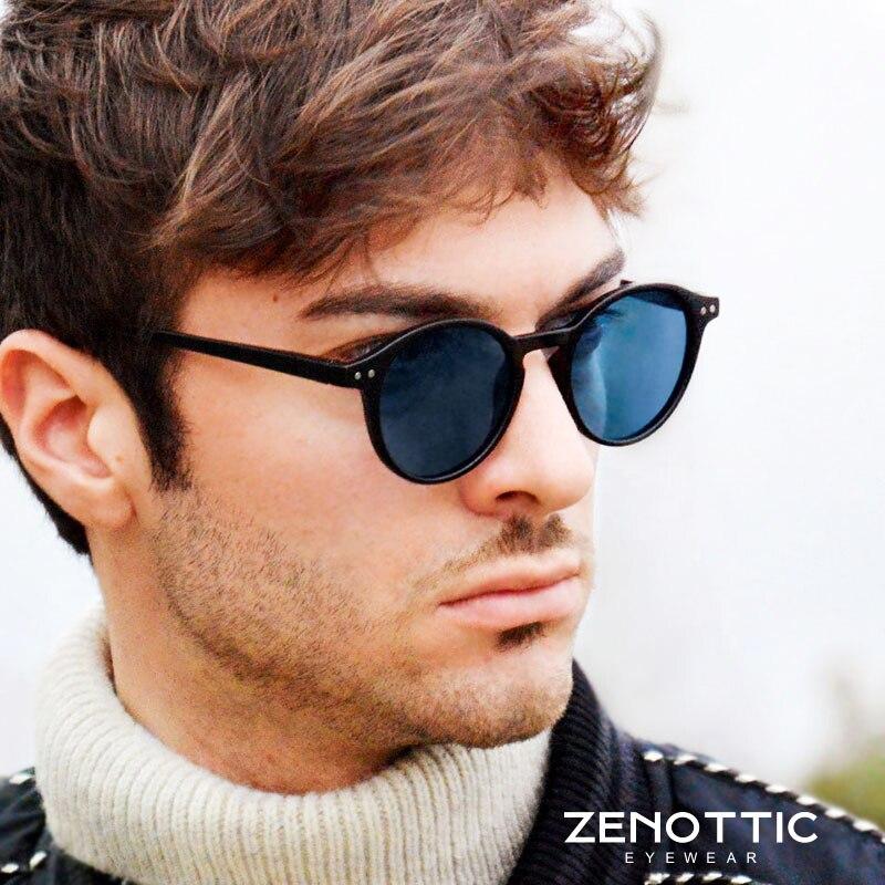 Polarisierte Sonnenbrille Männer Frauen Vintage Runde Rahmen Licht Sonnenbrille Polaroid Objektiv 2019 Mode Sonnenbrillen Brillen UV400 BT4203