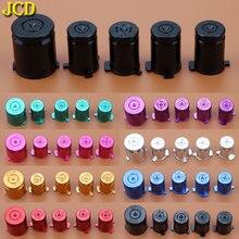 JCD Bala de Metal ABXY y botones guía para MicroSoft Xbox 360, para controladores Xbox360, 1 juego/5 uds.