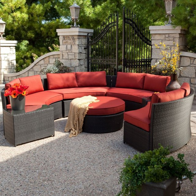 2017 Hot Sale Waterproof Deep Seating Patio Used Sofa Furniture