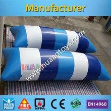 цена на 0.9mm PVC tarpaulin, 7*3m, inflatable water blob jumping pillow(any color you like)