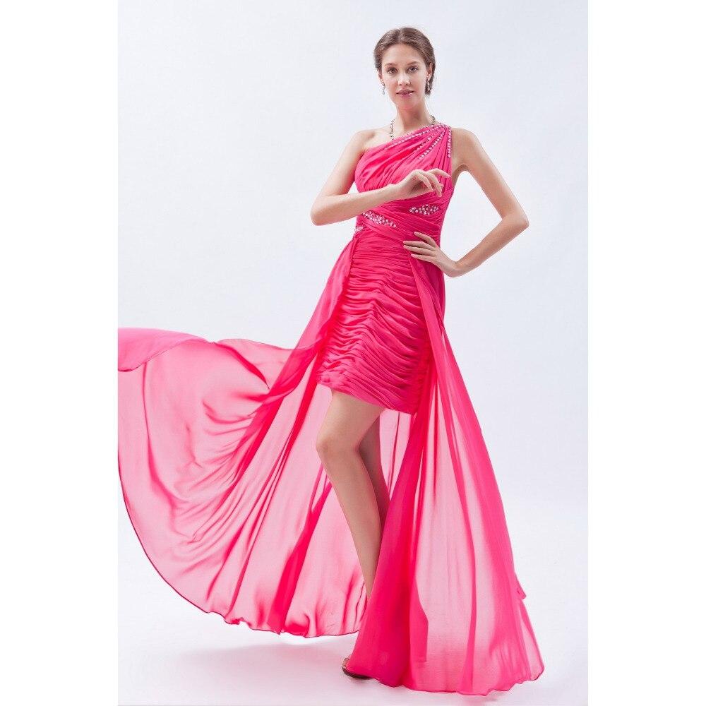 Vestido De Fiesta Hermosa Sexy Plisado Sin Mangas vestidos Cortos ...