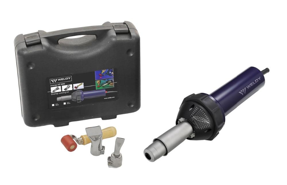 WELDY 1600W pistola per riscaldamento ad aria calda pistola per saldatura in plastica della tecnologia svizzera e ingegneria saldatura di membrane in PVC TPO