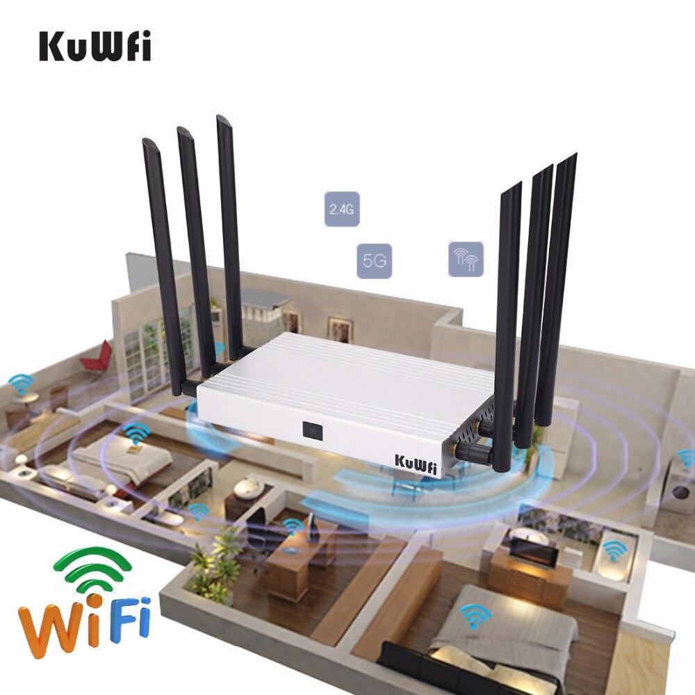 1200 Mbps 11AC Double Bnad Gigabit Sans Fil Routeur Multi Fonction À Travers la Paroi WiFi Répéteur AP Routeur à Haut Gain Soutien 128 les utilisateurs
