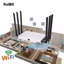 1200Mbps Multi Function11AC Dual Band High Power Wireless Router WiFi Repeater AP High Gain and Whloe Cover work 128 Users