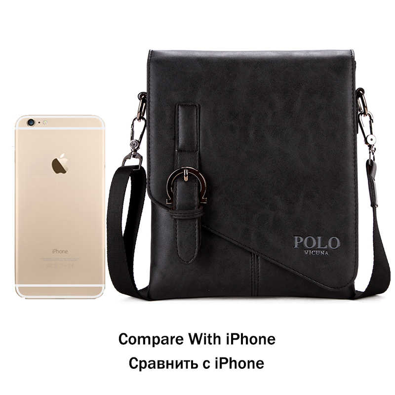 ... VICUNA POLO Burglarproof Buckle Small Mens Crossbody Bag Personality  Oblique Flap Cool Men Messenger Bag Sling 52d053e4c84a6