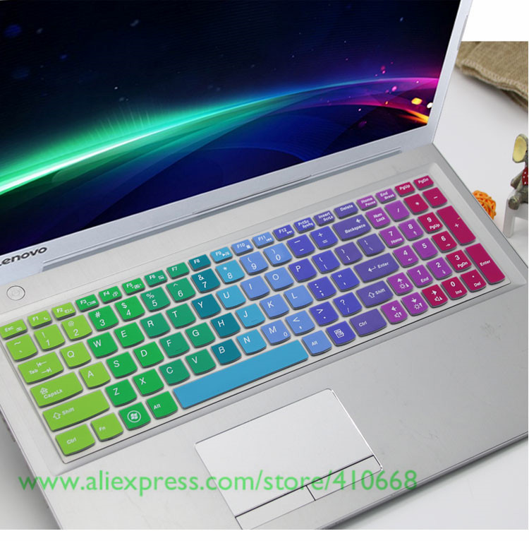 Silicone Laptop Keyboard Cover Protector for Lenovo Yoga 530 530S 530 14Ikb Yoga 730 730S 530-In Keyboard Covers from Computer /& Office,Rainbow