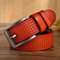 Fashion cowleather belts for men Hot Sale !!! boy's belt  men genuine leather belts Um cinto de couro masculino Ceinture hommes