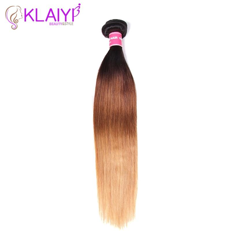Brazilian Straight Hair Weave Bundles 100% Human Hair KLAIYI Cuticle Hair Extensions Can Buy 3 Or More Bundles Remy Hair
