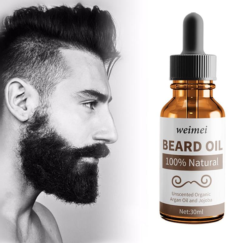 30ml Natural Men Beard Care Essential Oils Beard Growth Soft Beard Oil Hair Loss Products
