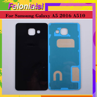 case samsung galaxy 10Pcs/lot For Samsung Galaxy A510 A510F A5100 A5 2016 Housing Battery Door Rear Back Glass Cover Case Chassis Shell Replacement (3)
