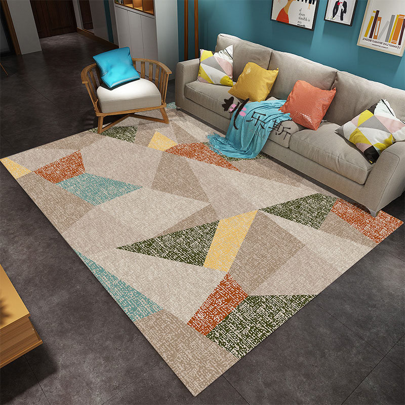 US $88.73 |AOVOLL Rugs And Carpets For Home Living Room European Geometric  Pattern Carpet Bedroom Rug Carpet Kids Room Christmas Rug-in Carpet from ...