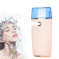 Nano USB Facial Atomization Sprayer Nanoscale Hydrating Mini Humidifier Moisturize the Skin to Prevent Dry Skin