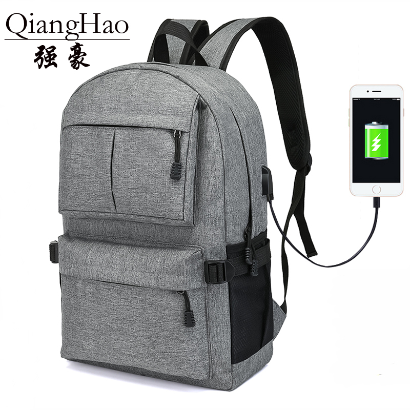 Man's Canvas Backpack Travel Schoolbag Male Backpack Men Large Capacity Rucksack Shoulder School Bag Mochila Escolar goog yu man s canvas backpack travel schoolbag male large backpack men large capacity rucksack shoulder school bag