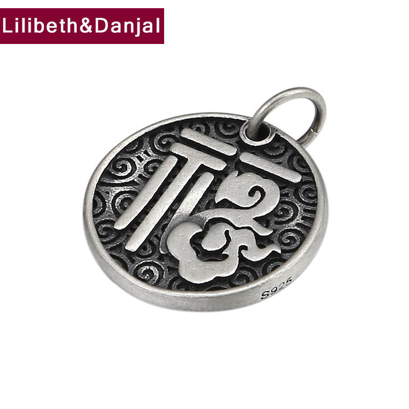 2019 Scrub Blessing Cloud Pendant 100% 925 Sterling Silver Jewelry Men Women Notre Dame Necklace Pendant Fine Jewelry Making P43