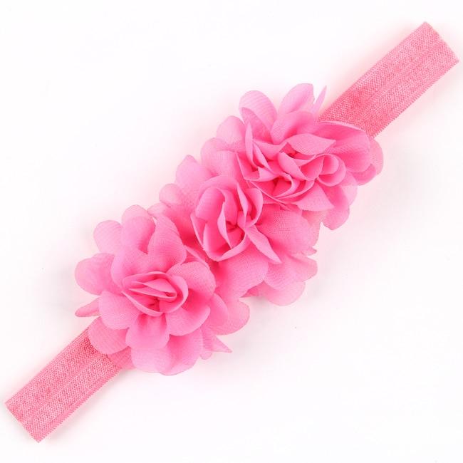 TWDVS Diadema de flores Bandas para el cabello recién nacidas Arco - Accesorios para la ropa - foto 4