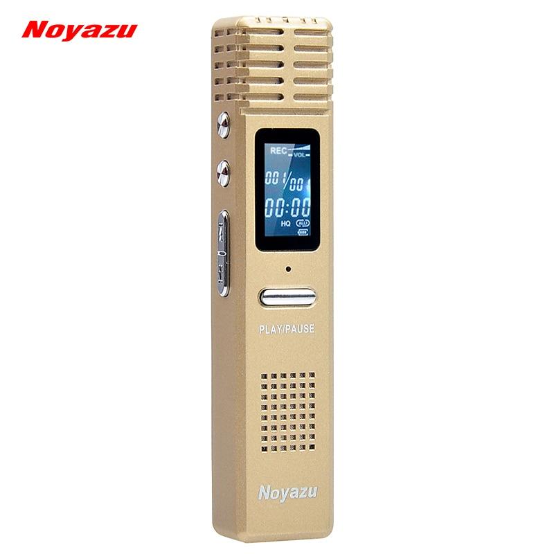 NOYAZU X1 16G Professionelle sprachaktivierte Digital Audio Voice - Tragbares Audio und Video